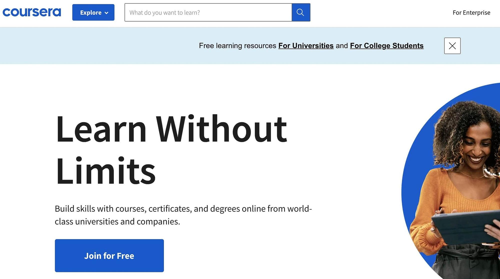 coursera-website