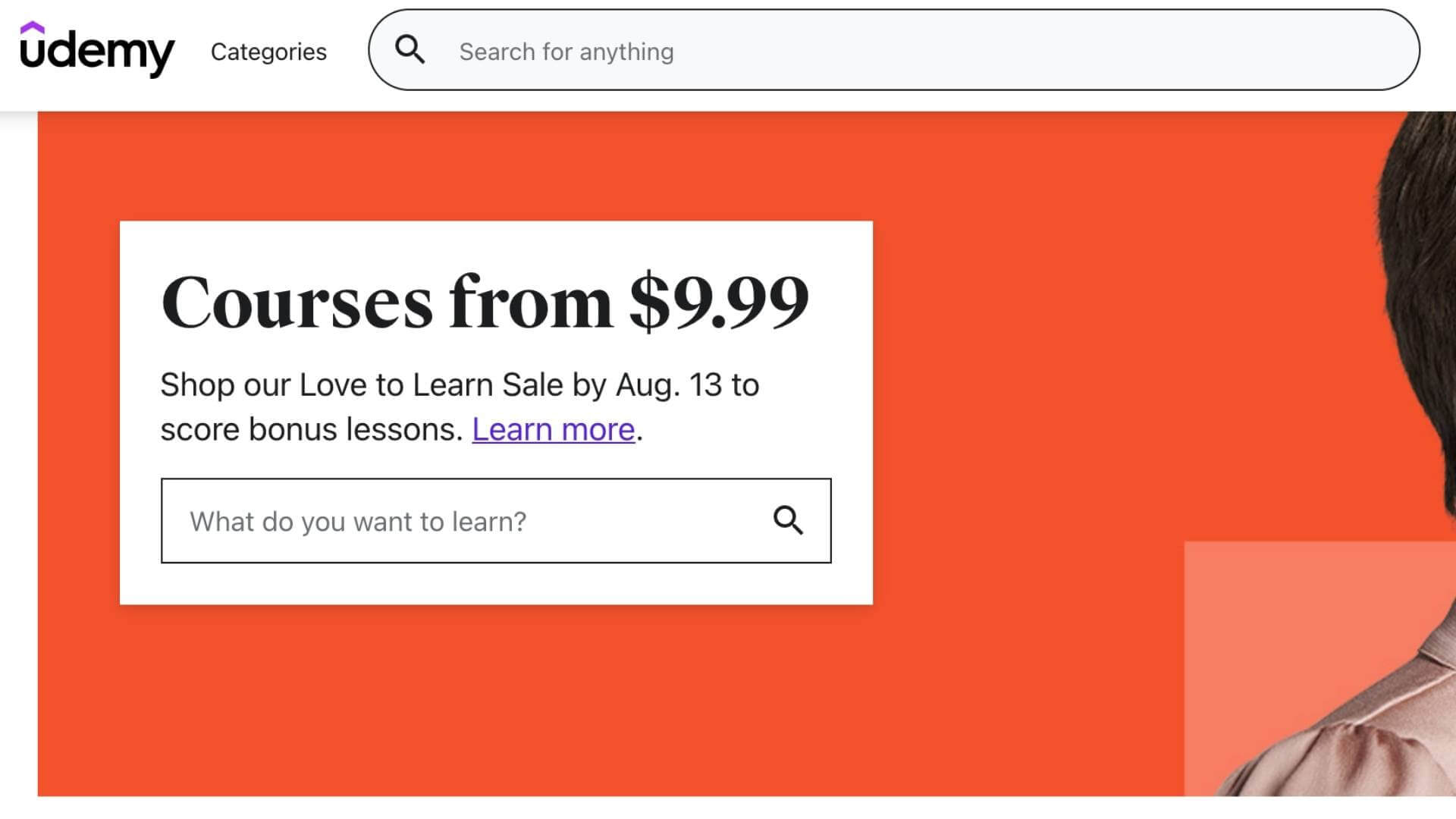 udemy-frontpage